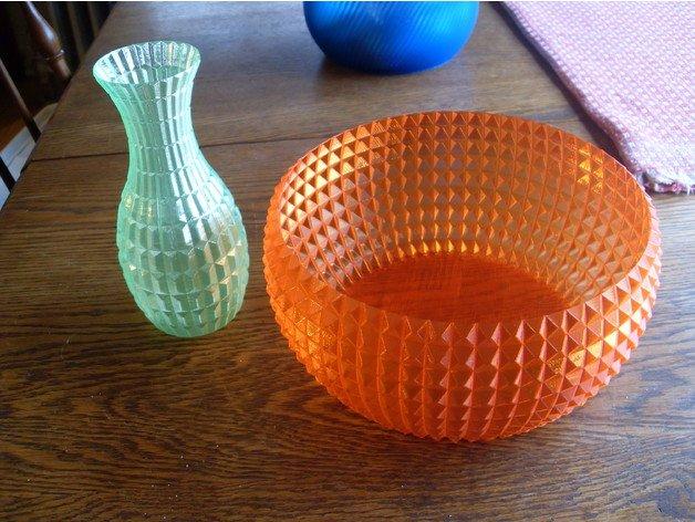 transparent bowl